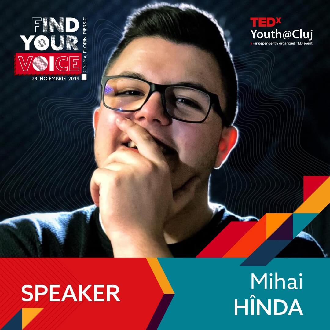 TedxYouth@Cluj Speaker - Mihai Hinda