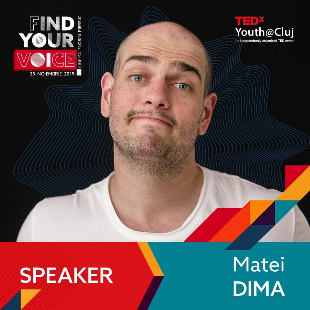 TedxYouth Cluj Matei Dima