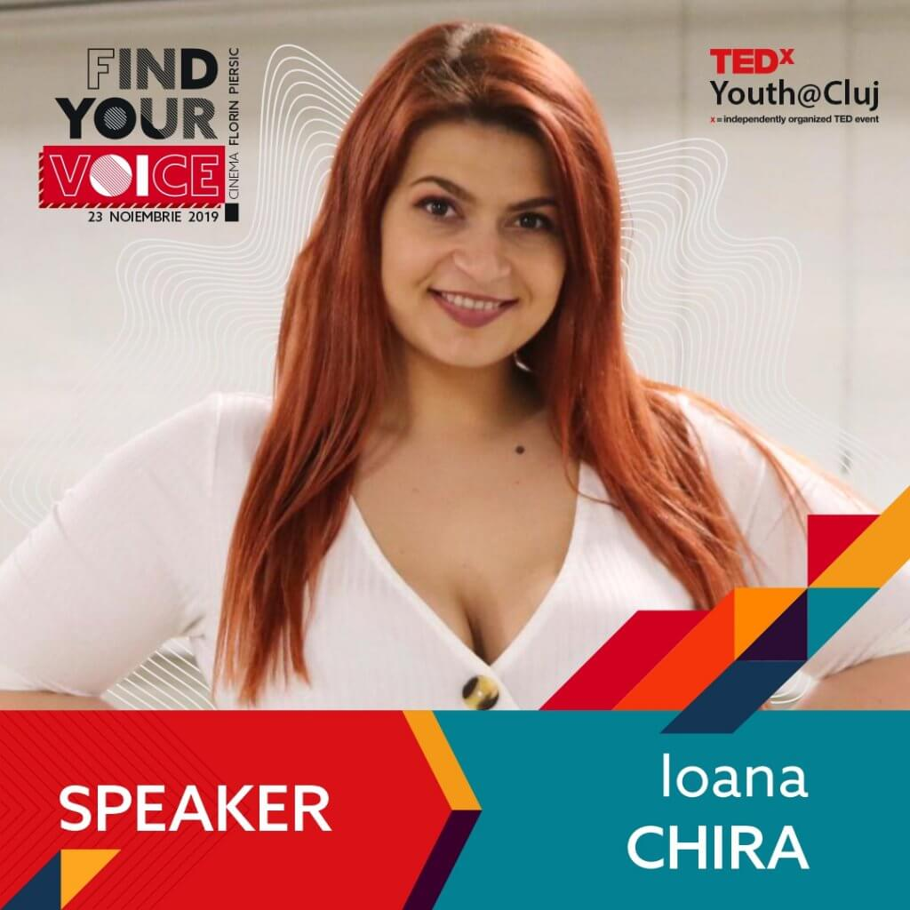 TedxYouth@Cluj Speaker Ioana Chira