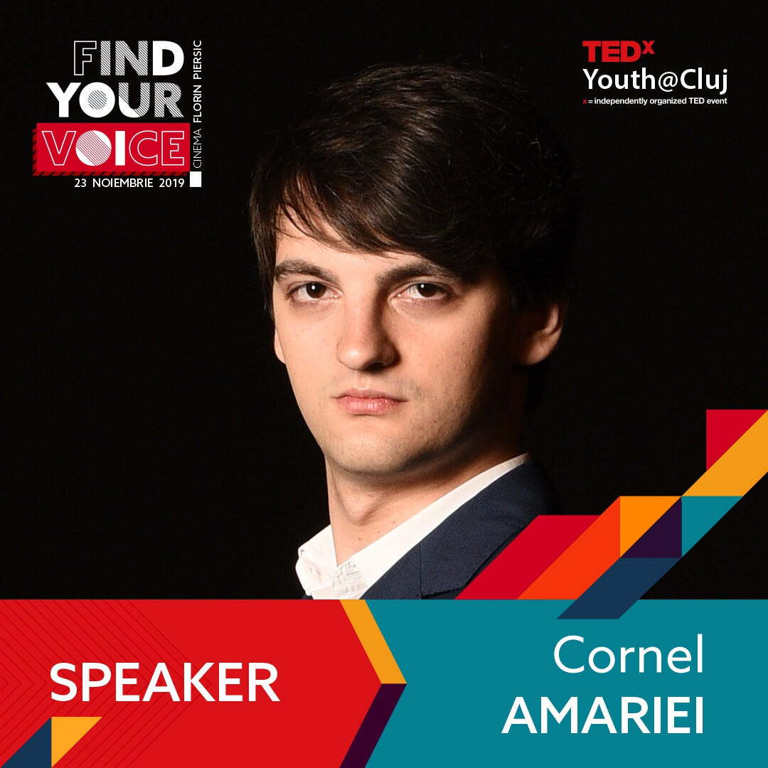 TedxYouth Cornel Amariei
