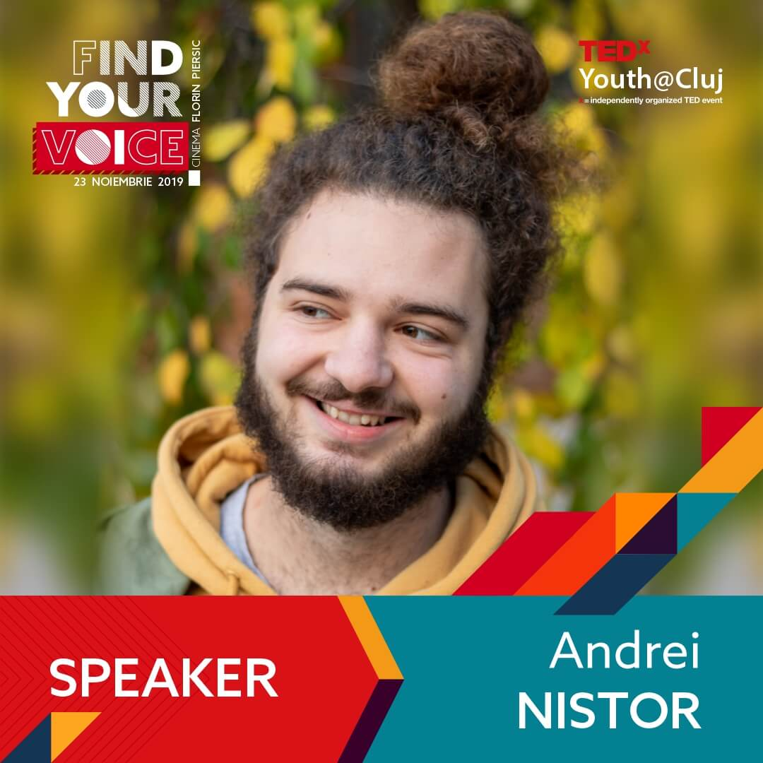 TedxYouth Speaker - Andrei Nistor
