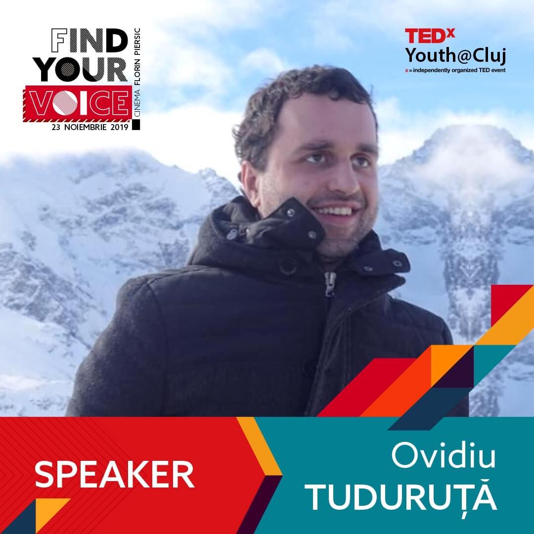 TedxYouth Speaker Ovidiu Tuduruta